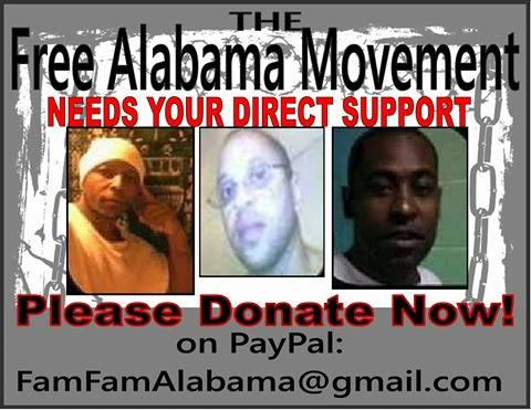 Plz Donate to Free Alabama Movement banner: Paypal FamFamAlabama@gmail.com
